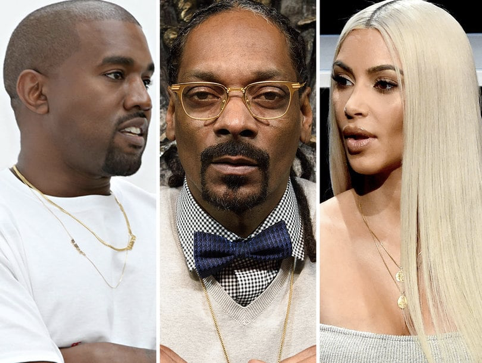Snoop Dogg Just Dragged Kanye West and His Wife Kim Kardashian